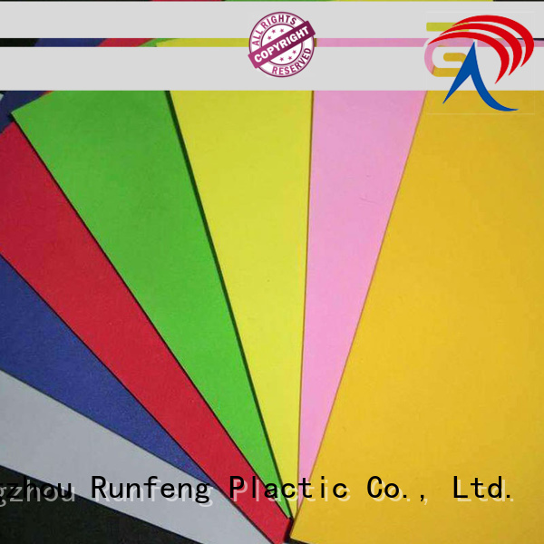 High Density Hdpe Sheet Supplier For Camping Tents Runfeng